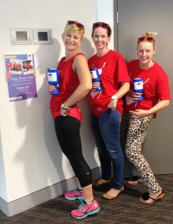Some of the fundraising team behind the our Bolters