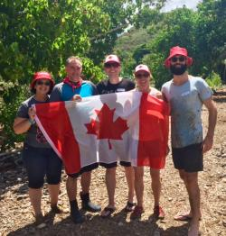 Team Canada were up for the challenge
