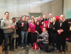 Our Moneywse team of financial advisers helped out as part of their team get together