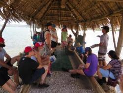 Learning more about fish farming, a tradition for 800+ years